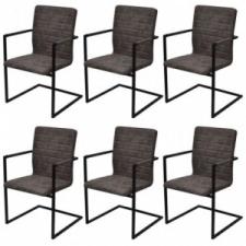 vidaXL 6 darab barna, fémvázas étkezőszék bútor