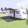 vidaXL Antracitszürke sátorszőnyeg 300 x 400 cm