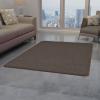 vidaXL barna tűzött szőnyeg 160 x 230 cm