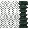 vidaXL Drótkerítés 1 x25 m Zöld