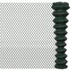 vidaXL Drótkerítés 2 x 15 m Zöld