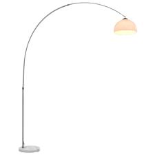 vidaXL ezüst íves lámpa 60 W E27 200 cm világítás