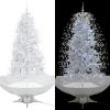 vidaXL fehér havazó karácsonyfa ernyő alakú talppal 190 cm