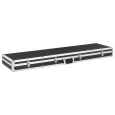 vidaXL fekete alumínium fegyvertáska 134 x 35 x 12 cm