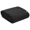 vidaXL fekete HDPE konténerháló 3,5 x 6 m