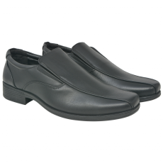 vidaXL Férfi félcipő fekete 42 -es méret PU bőr