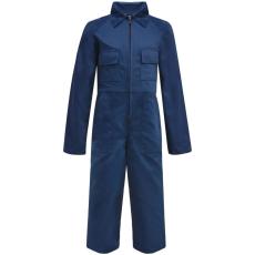 vidaXL Gyermek szerelőruha kék 146/152-es méret