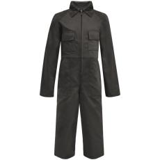 vidaXL Gyermek szerelőruha szürke 146/152-es méret