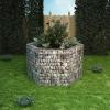 vidaXL hatszögletű gabion virágtartó 160 x 139 100 cm