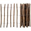 vidaXL impregnált mogyorófavessző kerítés 90 x 500 cm
