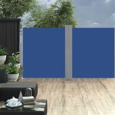 vidaXL kék behúzható oldalsó napellenző 170 x 600 cm kerti bútor