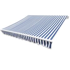 vidaXL kék és fehér napellenző ponyva 350 x 250 cm kerti bútor