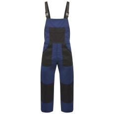 vidaXL kék férfi vállpántos overall M