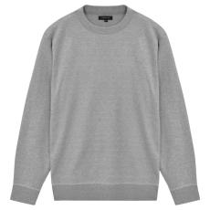 vidaXL Kerek nyakú férfi pulóver/szvetter szürke, XL-es