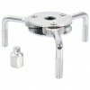 vidaXL kétoldalas olajszűrő-leszedő kulcs