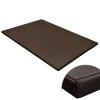vidaXL Lapos négyzetes kutyaszőnyeg / kutyafekhely barna L