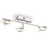 vidaXL LED-es falilámpa 3 meleg, fehér fényforrással