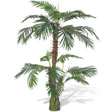 vidaXL Mesterséges Növény Cycus Pálmafa 150 cm fa és növény