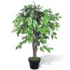 vidaXL Mesterséges Növény Fikuszfa Edény 90 cm