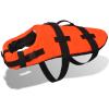 vidaXL Narancssárga L kutya mentőmellény