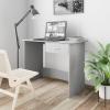 vidaXL Szürke forgácslap íróasztal 100 x 50 x 76 cm