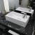 vidaXL téglalap-alakú, fehér kerámia mosdókagyló csaptelep furattal 46x25,5x12 cm