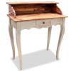 vidaXL tömör újrahasznosított fa íróasztal 80 x 40 92 cm