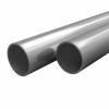 vidaXL vidaXL 2 db rozsdamentes acélcső V2A Ø25x1,9mm, 1 m