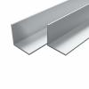 vidaXL vidaXL 4 db alumínium L-profil (szögidom) 40x40x2mm, 2 m