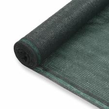 vidaXL vidaXL zöld HDPE teniszháló 1,6 x 100 m kerti dekoráció