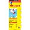 Vietnám térkép - Periplus Editions