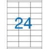 Viktória Etikett, univerzális, 70x36 mm, VICTORIA, 2400 etikett/csomag [100 lap]