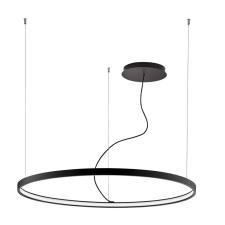 Viokef VERDI 1 ágú függeszték, fekete, 3000K melegfehér, beépített LED , 4200 lm, VIO-4224400 világítás