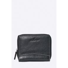 VIP COLLECTION - Bőr pénztárca - fekete