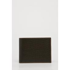 VIP COLLECTION - Bőr pénztárca Toskania - sötét barna - 1453419-sötét barna
