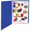 """VIQUEL Bemutatómappa, 40 zsebes, A4, VIQUEL """"Standard"""", kék"""