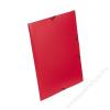 VIQUEL Gumis mappa, 15 mm, PP, A4, VIQUEL Standard, piros (IV133001)