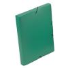 """VIQUEL Gumis mappa, 30 mm, PP, A4, VIQUEL """"Coolbox"""", zöld"""