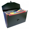 """VIQUEL Harmonika táska, PP, 12 rekeszes, VIQUEL """"Rainbow Class"""", fekete"""