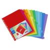 VIQUEL Regiszter, műanyag, A4 Maxi, 12 részes, VIQUEL (IV153787)