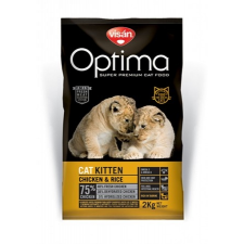 Visán Optimanova Cat Kitten 0,4 kg macskaeledel
