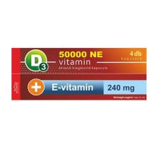 Vita Crystal D3-vitamin 50 000NE heti 1 kapszula 240 mg E-Vitamin 1 hónapos kiszerelés vitamin és táplálékkiegészítő