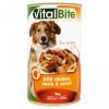 VitalBite Kutyaeledel konzerv 1240 g csirkével, tésztával és répával