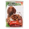 VitalBite teljes értékű állateledel felnőtt kutyák számára borjúval aszpikban 415 g