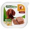 VitalBite teljes értékű állateledel felnőtt kutyák számára csirkével és pulykával 150 g