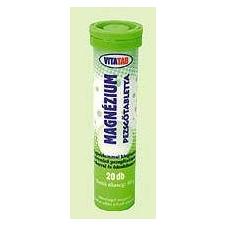 Vitatab Vitatab Pezsgőtabletta magnézium (20 db) táplálékkiegészítő