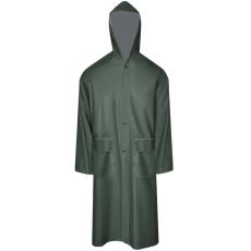 Vízálló nagy teherbírású csuklyás hosszú eső ruha méret M zöld