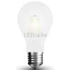 Vled 6W Opál Retro LED izzó (Frost, Filament, COG led, E27, 660 lumen, meleg fehér)