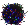 VOLTRONIC® Karácsonyi LED fényfüzér 5 m - színes 50 dióda - zöld kábel