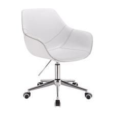 Votana HR876K Fehér Ekológikus Bőr szék tárgyalószék